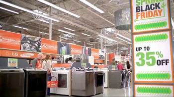 The Home Depot Spring Black Friday TV Spot, 'Electrodomésticos' [Spanish] - Thumbnail 5