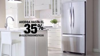 The Home Depot Spring Black Friday TV Spot, 'Electrodomésticos' [Spanish] - Thumbnail 7