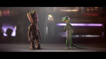 GEICO TV Spot, 'Guardians of the Galaxy Vol. 2: Groot and Gecko Team Up' - Thumbnail 3
