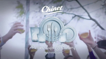 Chinet Cut Crystal TV Spot, 'Spring Pairs' - Thumbnail 9