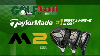 GolfDiscount.com TV Spot, 'TaylorMade M2' - Thumbnail 1