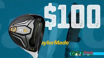 GolfDiscount.com TV Spot, 'TaylorMade M2' - Thumbnail 3