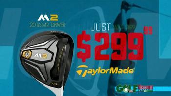 GolfDiscount.com TV Spot, 'TaylorMade M2' - Thumbnail 4