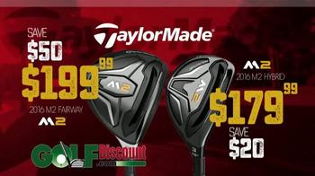GolfDiscount.com TV Spot, 'TaylorMade M2' - Thumbnail 7