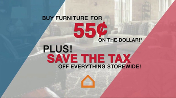 Ashley Furniture Homestore TV Spot, 'Save the Tax' - Thumbnail 1
