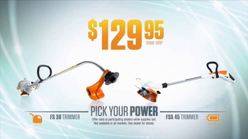 STIHL TV Spot, 'Pick Your Power: Fuel or Battery' - Thumbnail 4