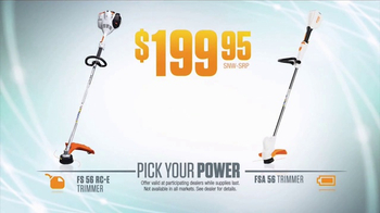 STIHL TV Spot, 'Pick Your Power: Fuel or Battery' - Thumbnail 5