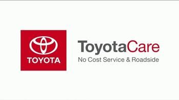Toyota ToyotaCare TV Spot, 'Comes Standard' [T1] - Thumbnail 1