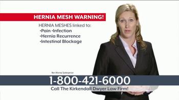 Kirkendall Dwyer LLP TV Spot, 'Hernia Mesh Implant' - Thumbnail 3