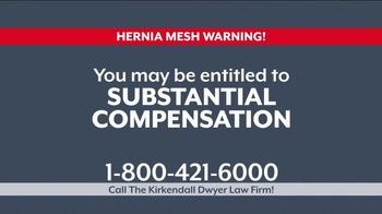 Kirkendall Dwyer LLP TV Spot, 'Hernia Mesh Implant' - Thumbnail 4