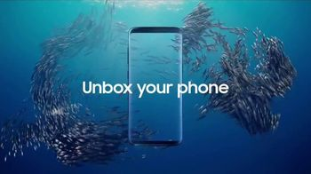Samsung Galaxy S8 TV Spot, 'Unbox Your Phone: Fish'