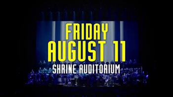 AXS.com TV Spot, 'Hans Zimmer Live on Tour: Shrine Auditorium' - Thumbnail 4