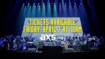 AXS.com TV Spot, 'Hans Zimmer Live on Tour: Shrine Auditorium' - Thumbnail 7