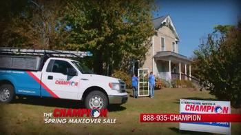 Champion Windows Spring Makeover Sale TV Spot, 'Sunrooms' - Thumbnail 1