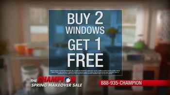 Champion Windows Spring Makeover Sale TV Spot, 'Sunrooms' - Thumbnail 3