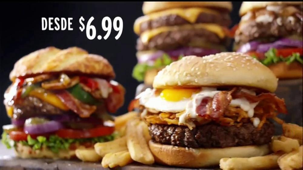 Denny's 100% Beef Burgers TV Commercial, 'Sabrosos'