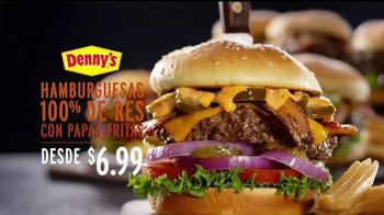 Denny's 100% Beef Burgers TV Spot, 'Sabrosos' [Spanish] - Thumbnail 4