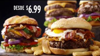 Denny's 100% Beef Burgers TV Spot, 'Sabrosos' [Spanish] - Thumbnail 3