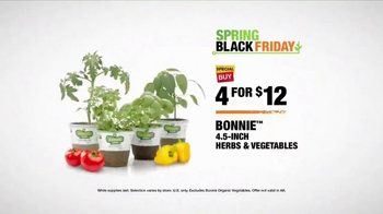 The Home Depot Spring Black Friday TV Spot, 'Trimmer, Soil and Herbs' - Thumbnail 6