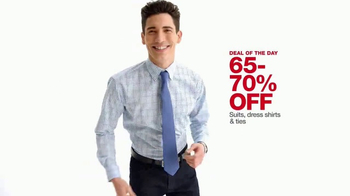 Macy's One Day Sale TV Spot, 'Juniors Denim, Dresses and Suits' - Thumbnail 10