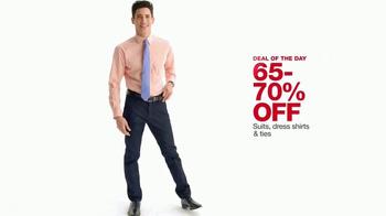 Macy's One Day Sale TV Spot, 'Juniors Denim, Dresses and Suits' - Thumbnail 8