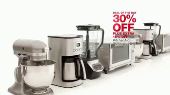 Macy's One Day Sale TV Spot, 'Kitchen Appliances, Luggage and Bedding' - Thumbnail 4