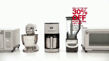 Macy's One Day Sale TV Spot, 'Kitchen Appliances, Luggage and Bedding' - Thumbnail 5