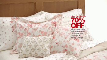 Macy's One Day Sale TV Spot, 'Kitchen Appliances, Luggage and Bedding' - Thumbnail 9