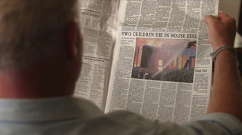 Safe Kids TV Spot, 'Changing the News: Fire Safety' Feat. Neal McDonough - Thumbnail 3