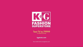 K&G Fashion Superstore TV Spot, 'Spring Dresses & Suits' - Thumbnail 4