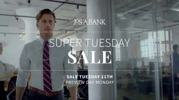 JoS. A. Bank Super Tuesday Sale TV Spot, 'Nearly Everything' - Thumbnail 1
