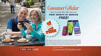 Consumer Cellular TV Spot, 'Be Happy: First Month Free: Plans $10+ a Month' - Thumbnail 7