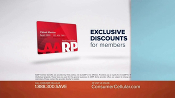 Consumer Cellular TV Spot, 'Be Happy: First Month Free: Plans $10+ a Month' - Thumbnail 4