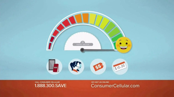 Consumer Cellular TV Spot, 'Be Happy: First Month Free: Plans $10+ a Month' - Thumbnail 5