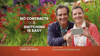Consumer Cellular TV Spot, 'Be Happy: First Month Free: Plans $10+ a Month' - Thumbnail 6
