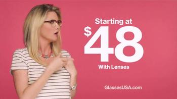 GlassesUSA.com TV Spot, 'Beats That I'm Droppin' - Thumbnail 4