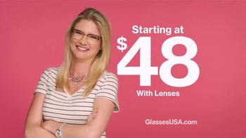 GlassesUSA.com TV Spot, 'Beats That I'm Droppin' - Thumbnail 5