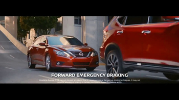 Nissan TV Spot, 'Stops When You Don't' [T2] - 35 commercial airings