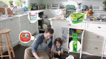 Procter & Gamble TV Spot, 'Life Ready: Cupcakes' - 3 commercial airings