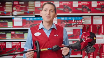 ACE Hardware Outdoor Power Sale TV Spot, 'Help Is Free' - 2335 commercial airings