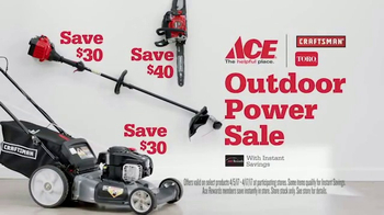 ACE Hardware Outdoor Power Sale TV Spot, 'Help Is Free' - Thumbnail 5
