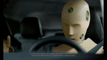 Toyota Safety Sense TV Spot, 'Overheard: Crash Test Dummies' [T1] - Thumbnail 2