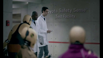 Toyota Safety Sense TV Spot, 'Overheard: Crash Test Dummies' [T1] - Thumbnail 7