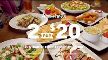 Applebee's 2 for $20 TV Spot, 'Nuevas opciones' [Spanish] - Thumbnail 7