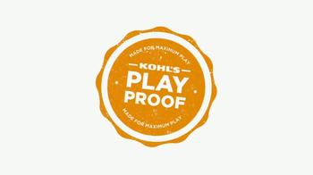 Kohl's TV Spot, 'Play Proof Gear' - Thumbnail 2