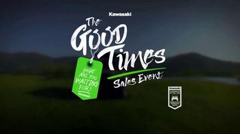 Kawasaki The Good Times Sales Event TV Spot, 'Do It: Four Wheel' - Thumbnail 8