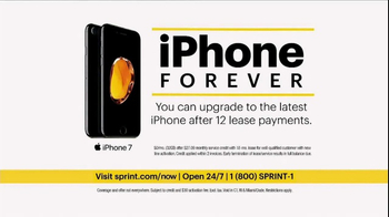 Sprint Unlimited TV Spot, 'Try New Things: iPhone Forever' - Thumbnail 7