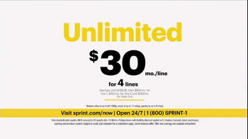 Sprint Unlimited TV Spot, 'Try New Things: iPhone Forever' - Thumbnail 5