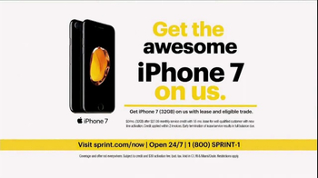 Sprint Unlimited TV Spot, 'Try New Things: iPhone Forever' - Thumbnail 6