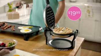 JCPenney The Easter Sale TV Spot, 'Floral Tops and Waffle Makers' - Thumbnail 6